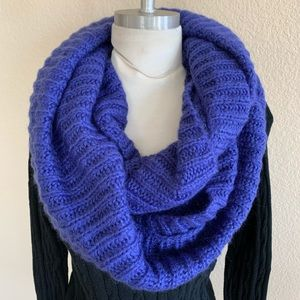Large Purple Infinity Scarf